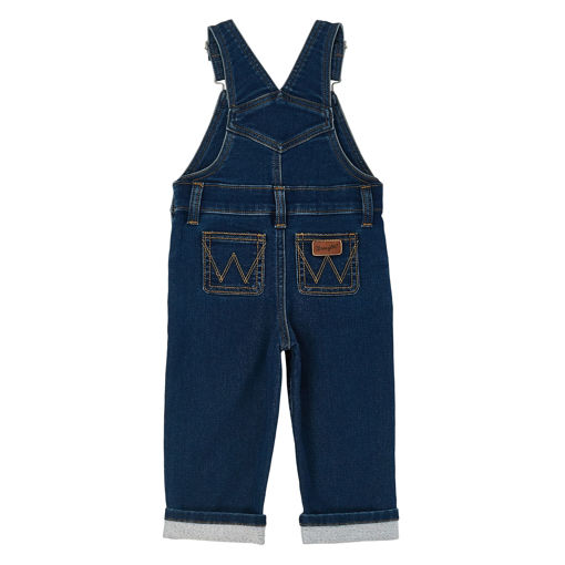Picture of PQJ556D Wrangler Baby & Toddler Overalls