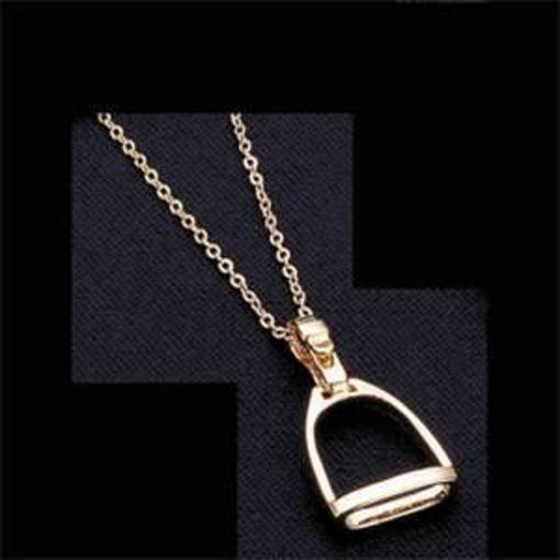 Picture of 6684 ~Excelle Large Stirrup Pendant