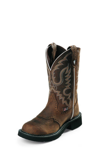 Picture of Justin L9909: Ladies Aged Bark