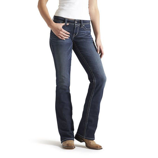 Picture of Ariat R.E.A.L. Midrise Bootcut - Ocean
