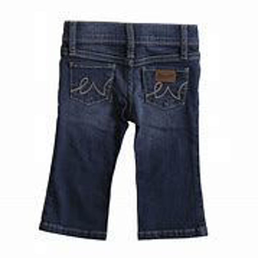 Picture of PQJ113D Wrangler Baby Cowgirl Jeans