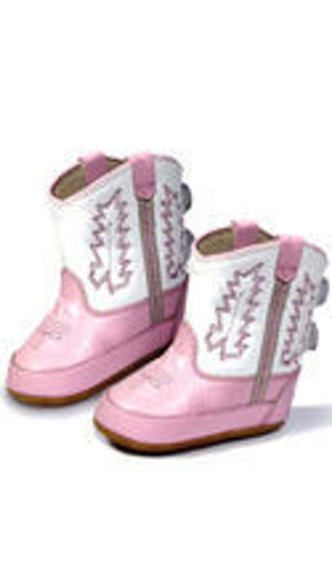 Picture of Old West Infants Comfort Poppets Cowboy Boots